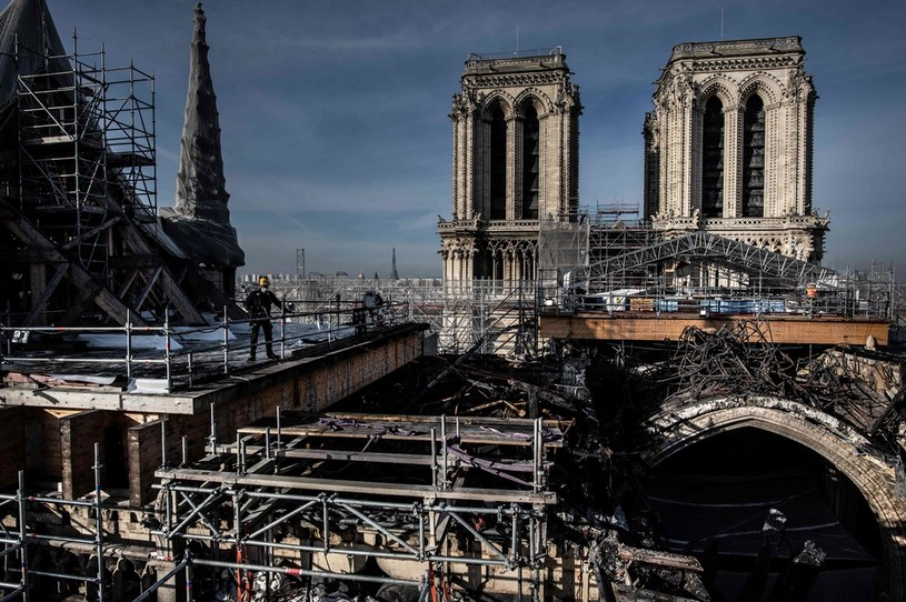 Katedra Notre-Dame w Paryżu /AFP