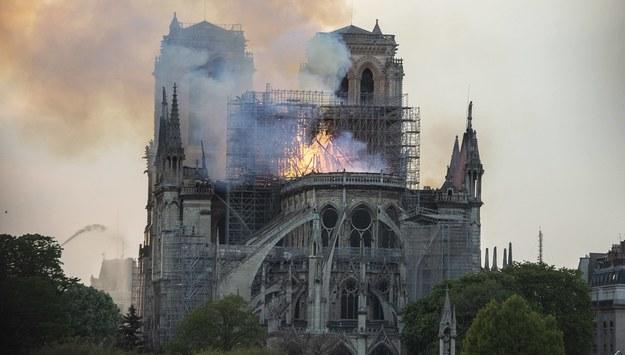 Katedra Notre Dame /Blondet Eliot/ABACA /PAP/EPA