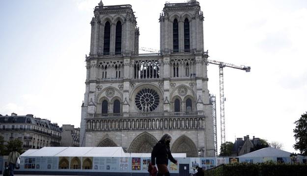 Katedra Notre-Dame /YOAN VALAT  /PAP/EPA