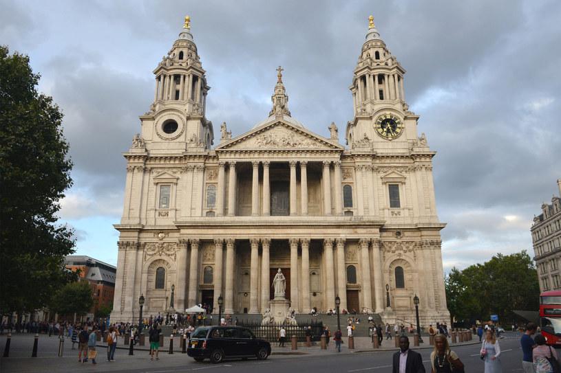 Katedra św. Pawła w Londynie /PRZEMYSLAW FISZER /East News
