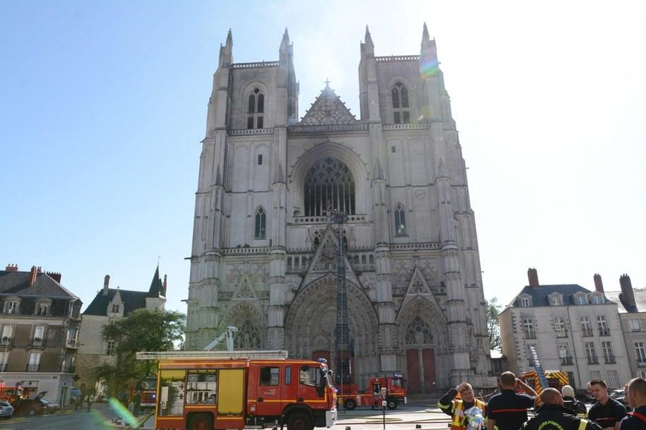 Katedra w Nantes /Houssin Ronan/ABACA /PAP