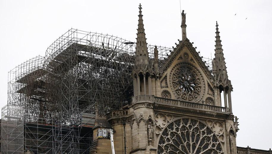 Katedra w Notre Dame /IAN LANGSDON /PAP/EPA