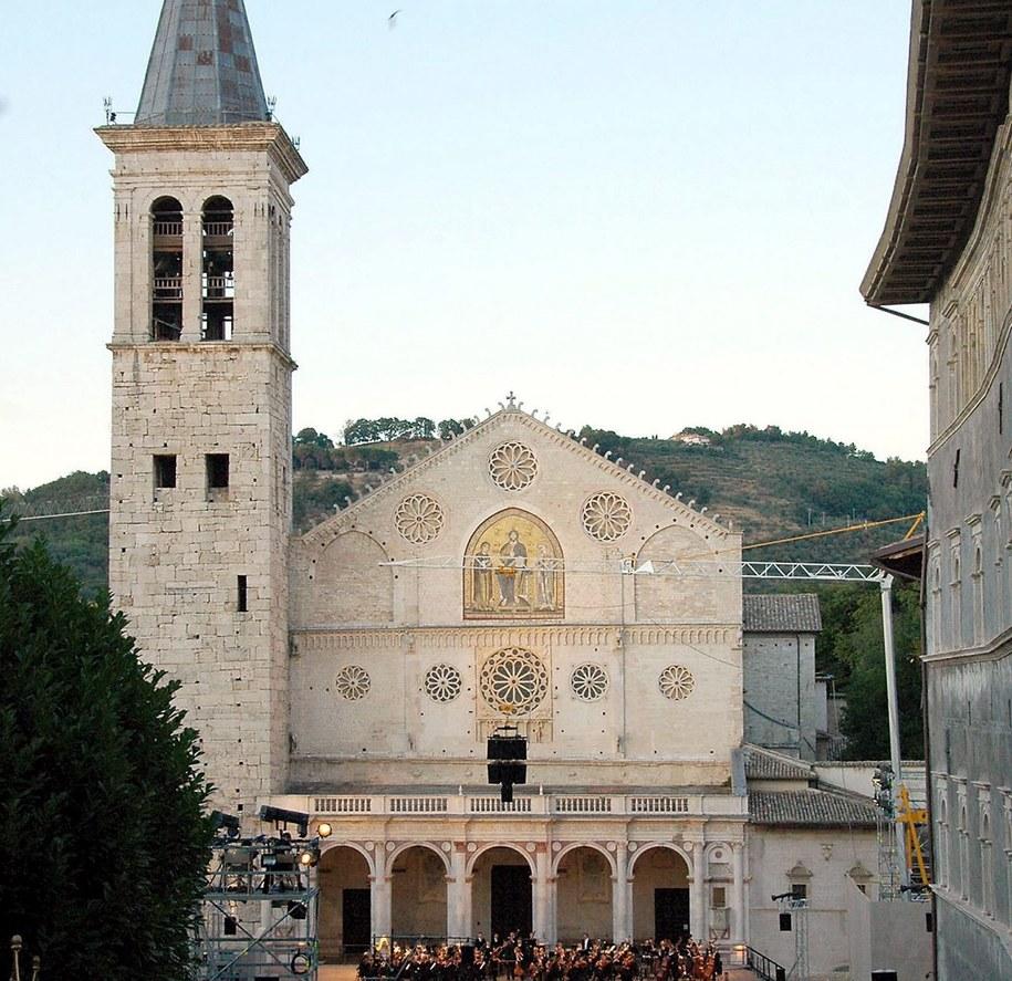 Katedra Wniebowzięcia Najświętszej Maryi Panny w Spoleto /GIULIO MARCOCCHI/HANDOUT /PAP/EPA