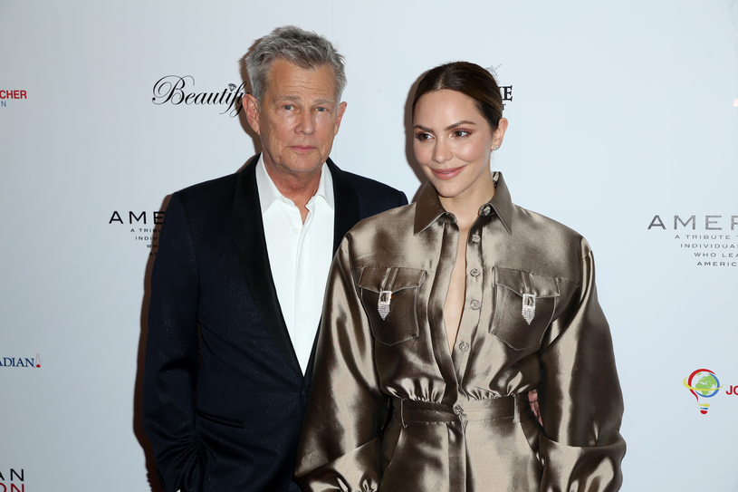 Katharine McPhee i David Foster /Phillip Faraone /Getty Images