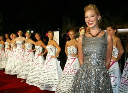 """Katherine Heigl na premierze filmu """"27 sukienek"""" /AFP"""