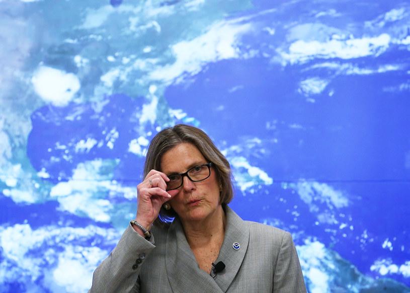 Kathryn Sullivan z NOAA /AFP