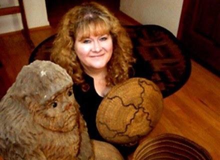 Kathy Moskowitz Strain w swojej pracowni. /MWMedia
