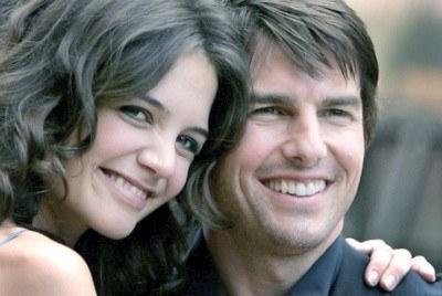 Katie Holmes i Tom Cruise - czy ich związek okaże się trwały? /AFP