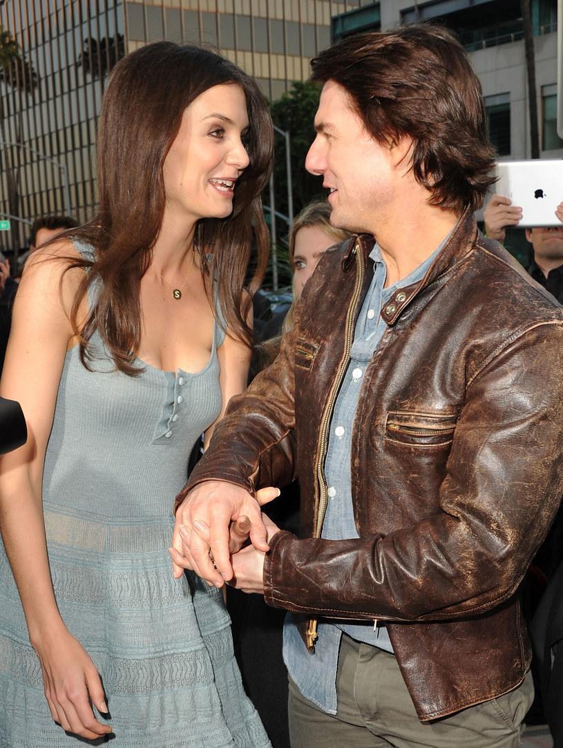 Katie Holmes i Tom Cruise są rozwiedzeni /Jason Merritt /Getty Images