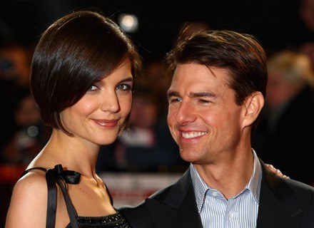 Katie Holmes i Tom Cruise /Getty Images/Flash Press Media