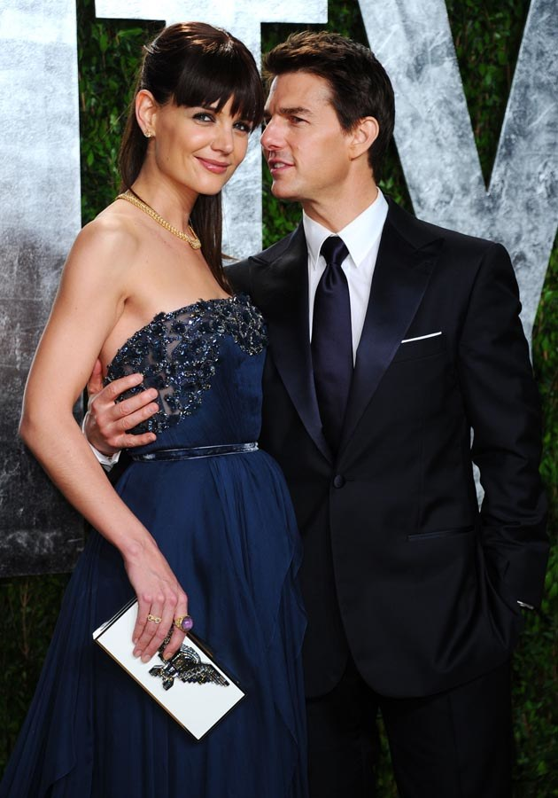 Katie Holmes i Tom Cruise /Alberto E. Rodriguez /Getty Images