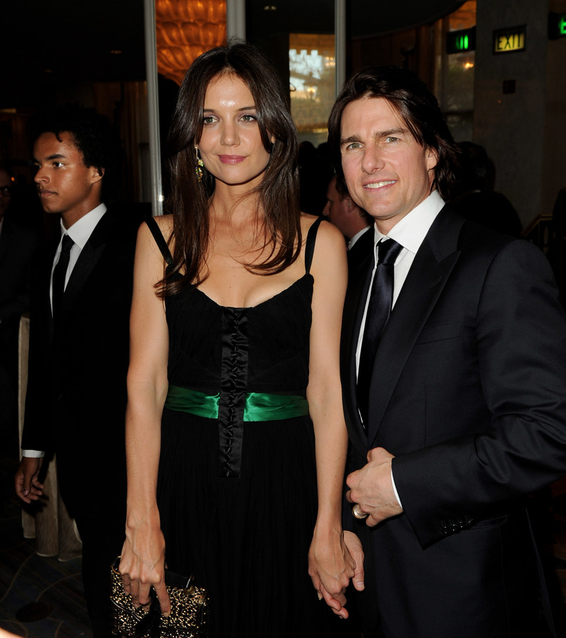 Katie Holmes i Tom Cruise /Kevin Winter /Getty Images