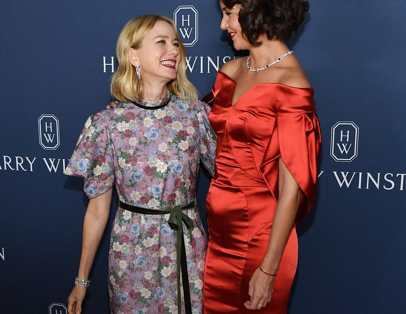 Katie Holmes na premierze kolekcji biżuterii /Nicholas Hunt /Getty Images