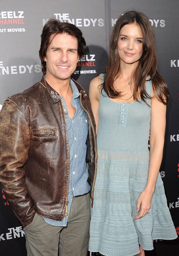 Katie Holmes nie wytrzymała i zostawiła Toma po siedmiu latach małżeństwa /Jason Merritt /Getty Images