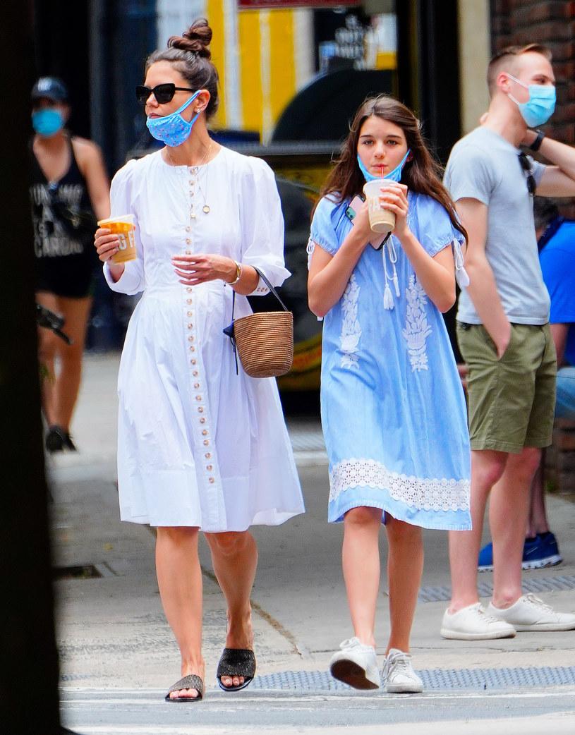 Katie Holmes z córką Suri Cruise