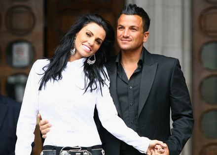 Katie Price i Peter Andre fot. Gareth Cattermole /Getty Images/Flash Press Media