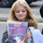 Katie Price z córką w drodze do szkoły
