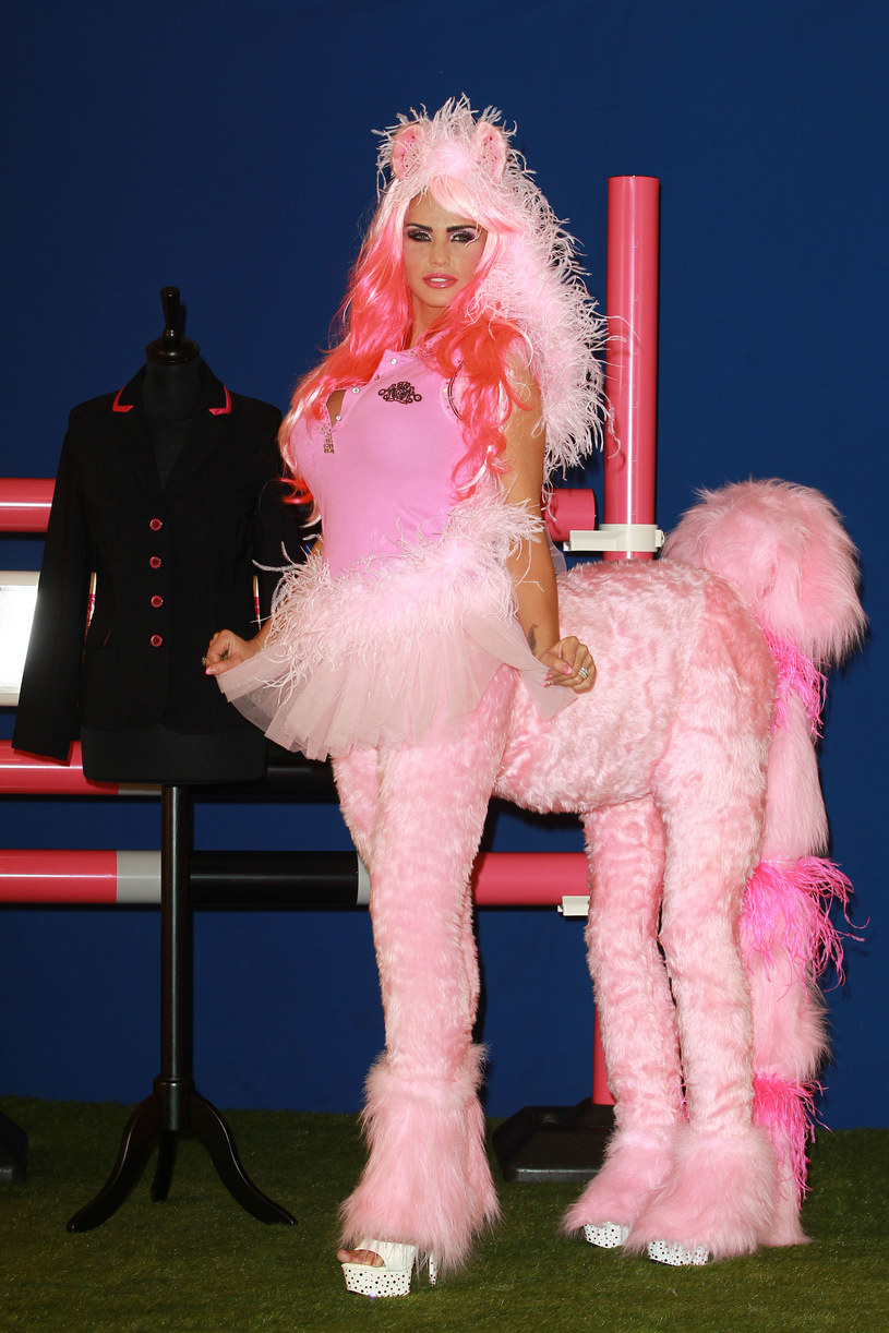Katie Price /Fred Duval /Getty Images