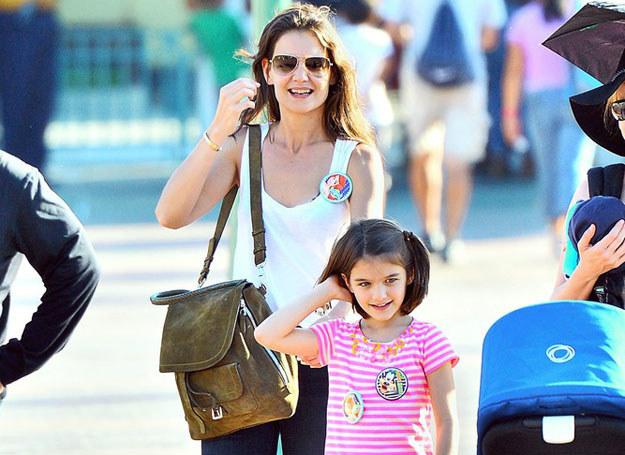 Katie z córeczką Suri /Sharpshooter Images /Splash /East News