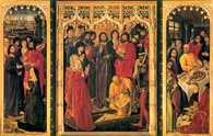 Katolicyzm, Nicolas Froment, Tryptyk Łazarza, 1461 /Encyklopedia Internautica