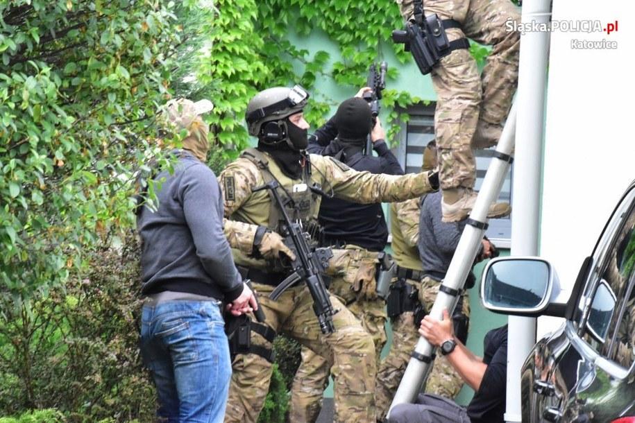 Katowiccy policjanci rozbili gang z Małopolski /Śląska policja /Policja