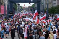 """Katowice: 3,5 tysiąca osób na """"Wielkim Śląskim Marszu Wolności"""""""