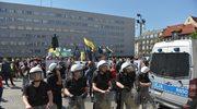 Katowice: Demonstracja środowisk narodowych rozwiązana