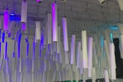 Katowice: Muzyczna instalacja w przejściu podziemnym