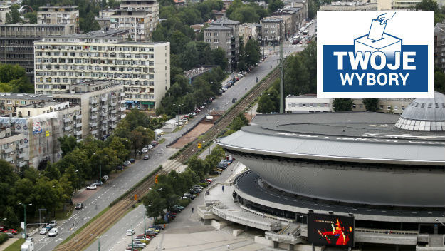 Katowice. Pierwsza debata z cyklu Twoje wybory w RMF FM i TVP INFO /PAP /PAP