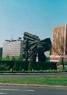 Katowice, pomnik Powstańców Śląskich /Encyklopedia Internautica