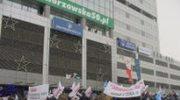 Katowice: Protest hutników