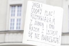 Katowice: Protest w obronie nazwy placu Wilhelma Szewczyka