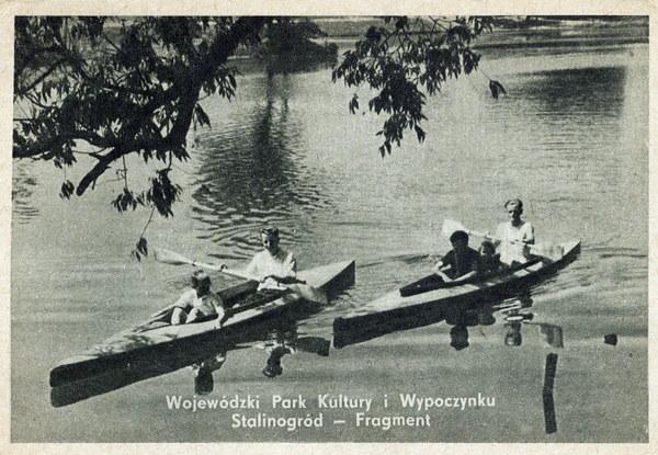 Stalinogród, 1955. Wojewódzki Park Kultury i Wypoczynku
