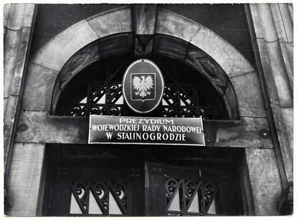 Stalinogród, 1953. Wojewodzka Rada Narodowa