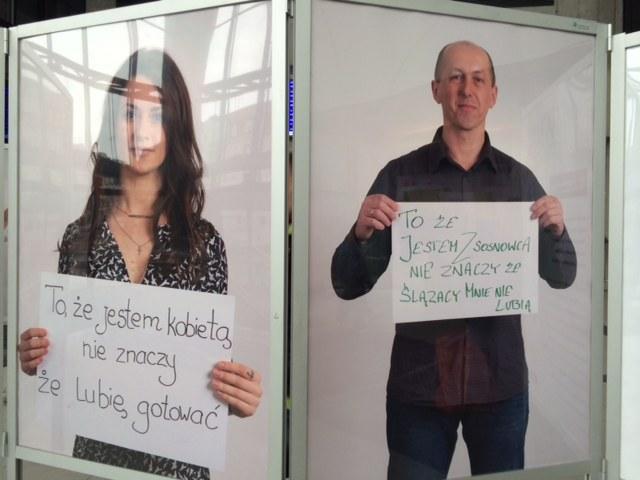 Katowice walczą ze stereotypami poprzez dworcową wystawę /Anna Kropaczek /RMF FM