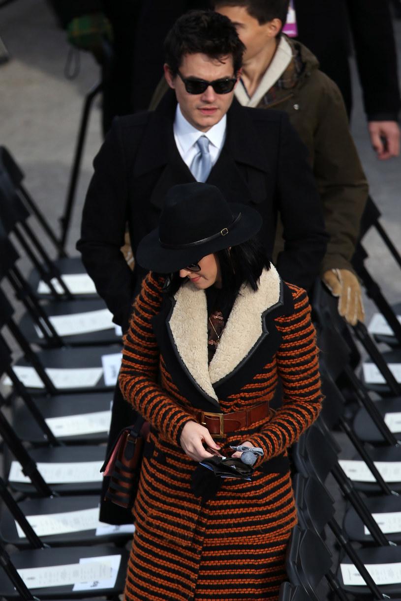 Katy Perry i John Mayer chyba nie są sobie pisani /ALEX WONG /Getty Images