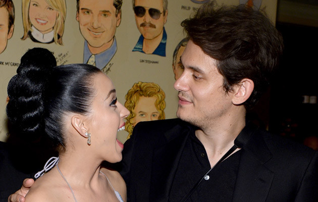 Katy Perry i John Mayer na krótko wrócili do siebie /Larry Busacca /Getty Images