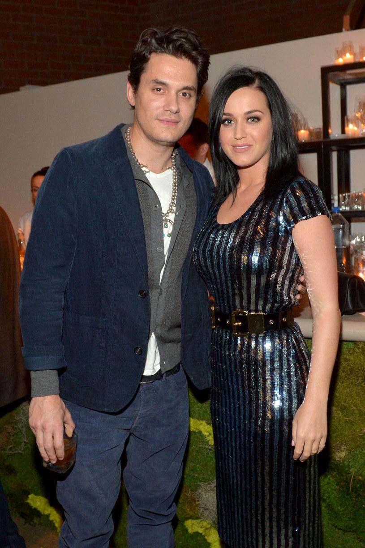 Katy Perry i John Mayer /Charley Gallay /Getty Images
