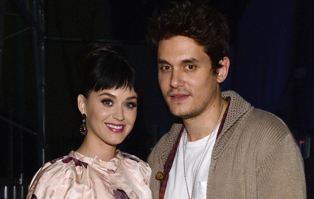 Katy Perry i John Mayer /Larry Busacca /Getty Images
