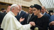 Katy Perry i Orlando Bloom na audiencji u papieża Franciszka w Watykanie
