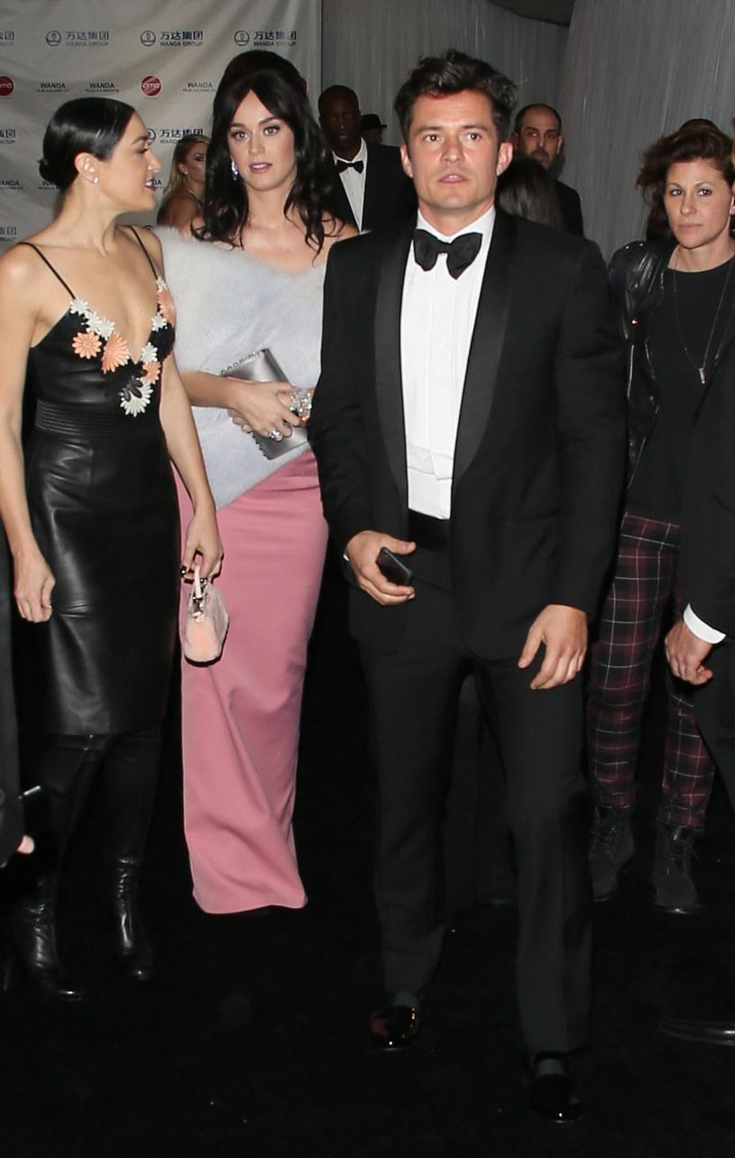 Katy Perry i Orlando Bloom powitali na świecie pierwsze wspólne dziecko /Splash News /East News