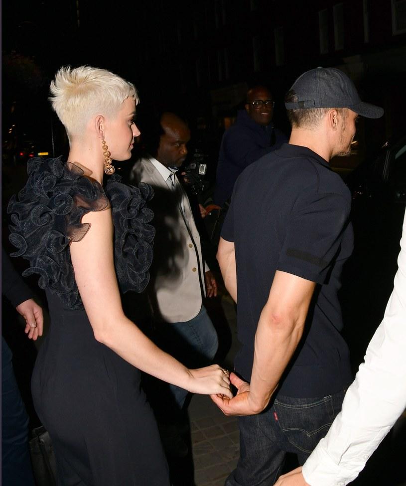 Katy Perry i Orlando Bloom /East News