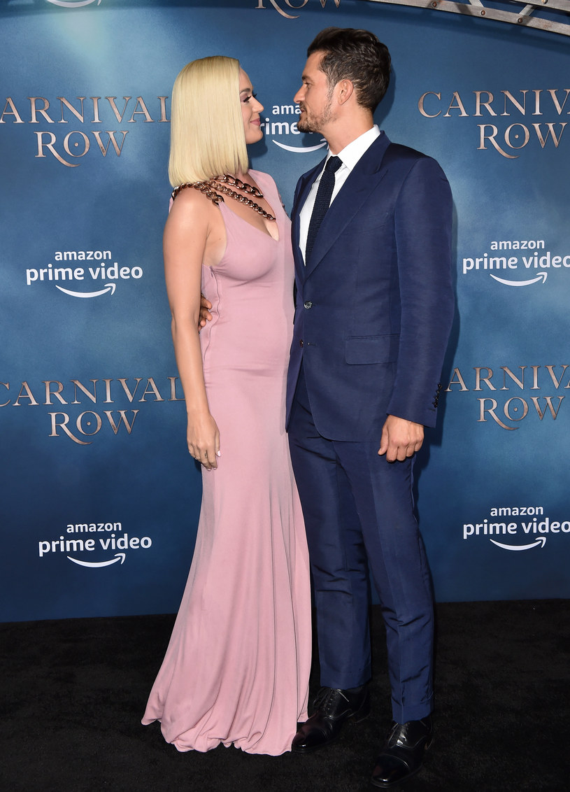 Katy Perry i Orlando Bloom /FilmMagic /Getty Images