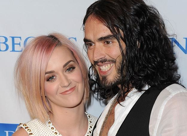 Katy Perry i Russell Brand jeszcze razem (grudzień 2011 r.) - fot. Jason Merritt /Getty Images/Flash Press Media