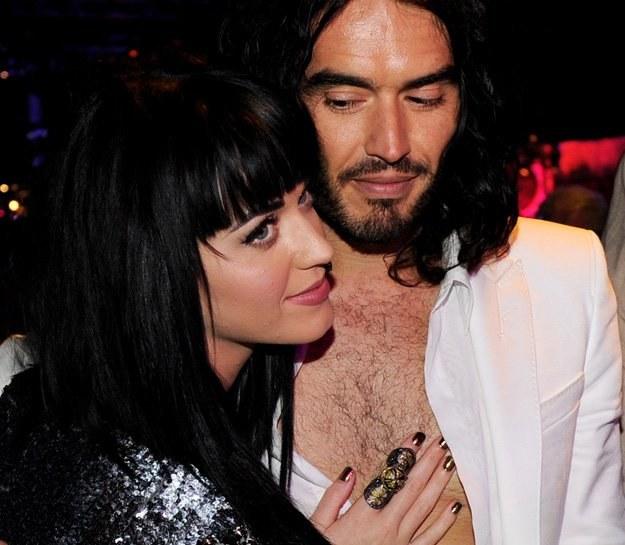 Katy Perry i Russell Brand są parą od ponad roku - fot. Kevin Winter /Getty Images/Flash Press Media