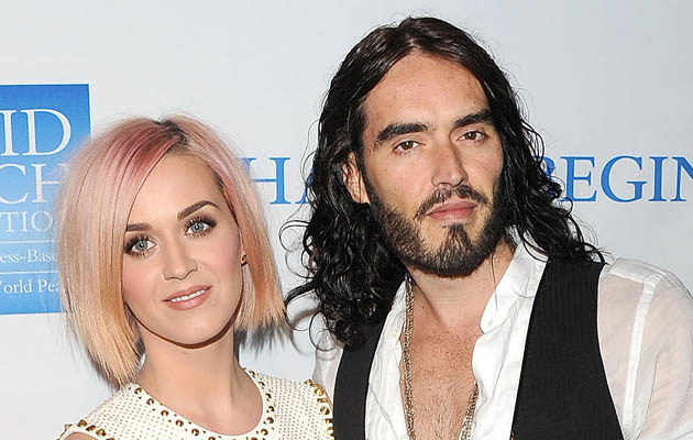 Katy Perry i Russell Brand /Jason Merritt /Getty Images