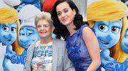 Katy Perry na premierze z babcią