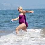 Katy Perry omal się nie przewróciła w wodzie!