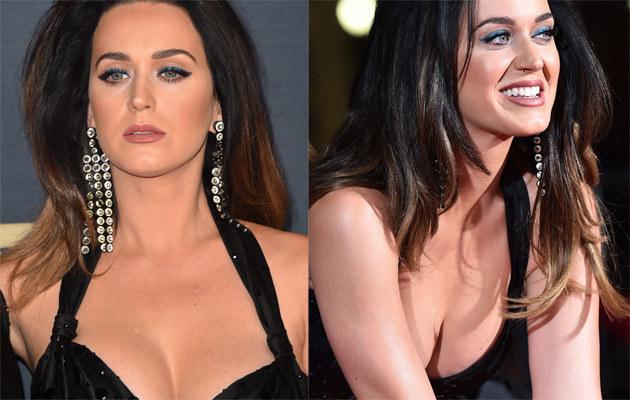 Katy Perry pokazała imponujący dekolt! /Alberto E. Rodriguez /Getty Images