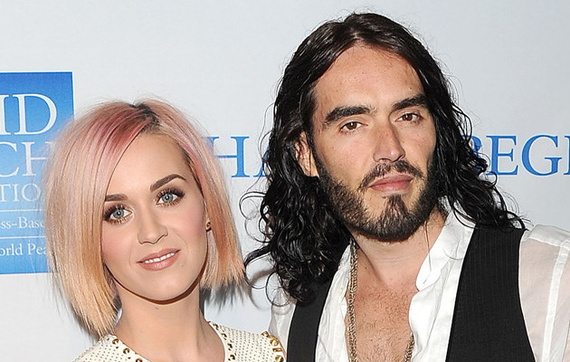 Katy Perry, Russell Brand   /Jason Merritt /Getty Images